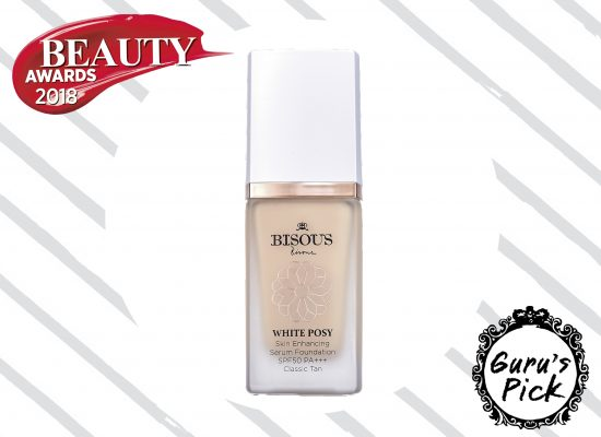 Bisous Bisous White Posy Skin Enhancing Serum Foundation SPF 50 PA+++