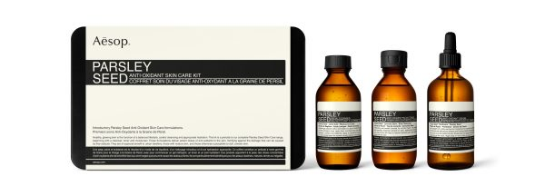 Aesop Parsley Seed Anti – Oxidant Skin Care Kit