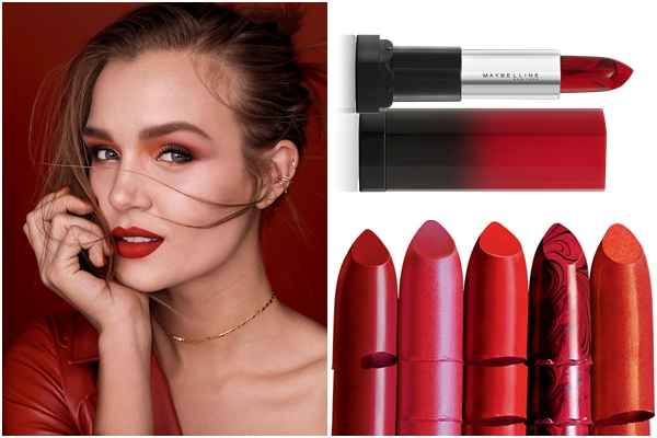 Maybelline Red on Fire