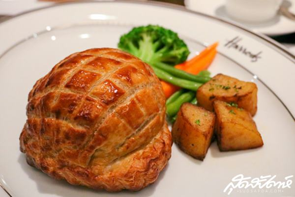 Harrods Paragon Western Food British Dinning Destination Sit-down Dinner Dinner