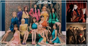 baekhyun, IZ*ONE, เกิร์ลกรุ๊ปเกาหลี, ไอดอลเกาหลี, บอยแบรด์เกาหลี, ศิลปินที่ทำยอดขายอัลบั้มเกิน 3 แสนในวีคแรก, ศิลปินเกาหลี, kang daniel, WANNA ONE, แบคฮยอน EXO, แบคฮยอน, EXO, คังแดเนียล อดีตสมาชิก WANNA ONE, คังแดเนียล WANNA ONE, คังแดเนียล, X1, SEVENTEEN, BTS