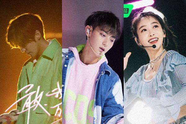 Produce Camp 2020 - เติ้งหลุน - หยางมี่ - ลู่หาน - Lu Han - หวงจื่อเทา - Huang Zitao - วิคตอเรีย ซ่ง - Victoria Song - ซ่งเชี่ยน - Song Qian- เมิ่งเหม่ยฉี - Meng Meiqi - โจวเจิ้นหนาน - Zhou Zhennan - Rocket Girls 101 - R1SE