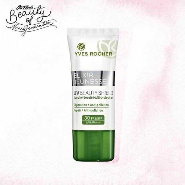 Yves Rocher Elixir Jeunesse UV Beauty Shield SPF 50 PA+++ - ครีมกันแดด - อีฟโรเช่