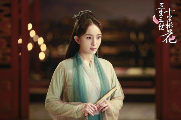 บทนางเอกในซีรี่ย์จีนย้อนยุคของหยางมี่ - Yang Mi - หยางมี่ - 杨幂 - 三生三世十里桃花 - Eternal Love - สามชาติสามภพ ป่าท้อสิบหลี่