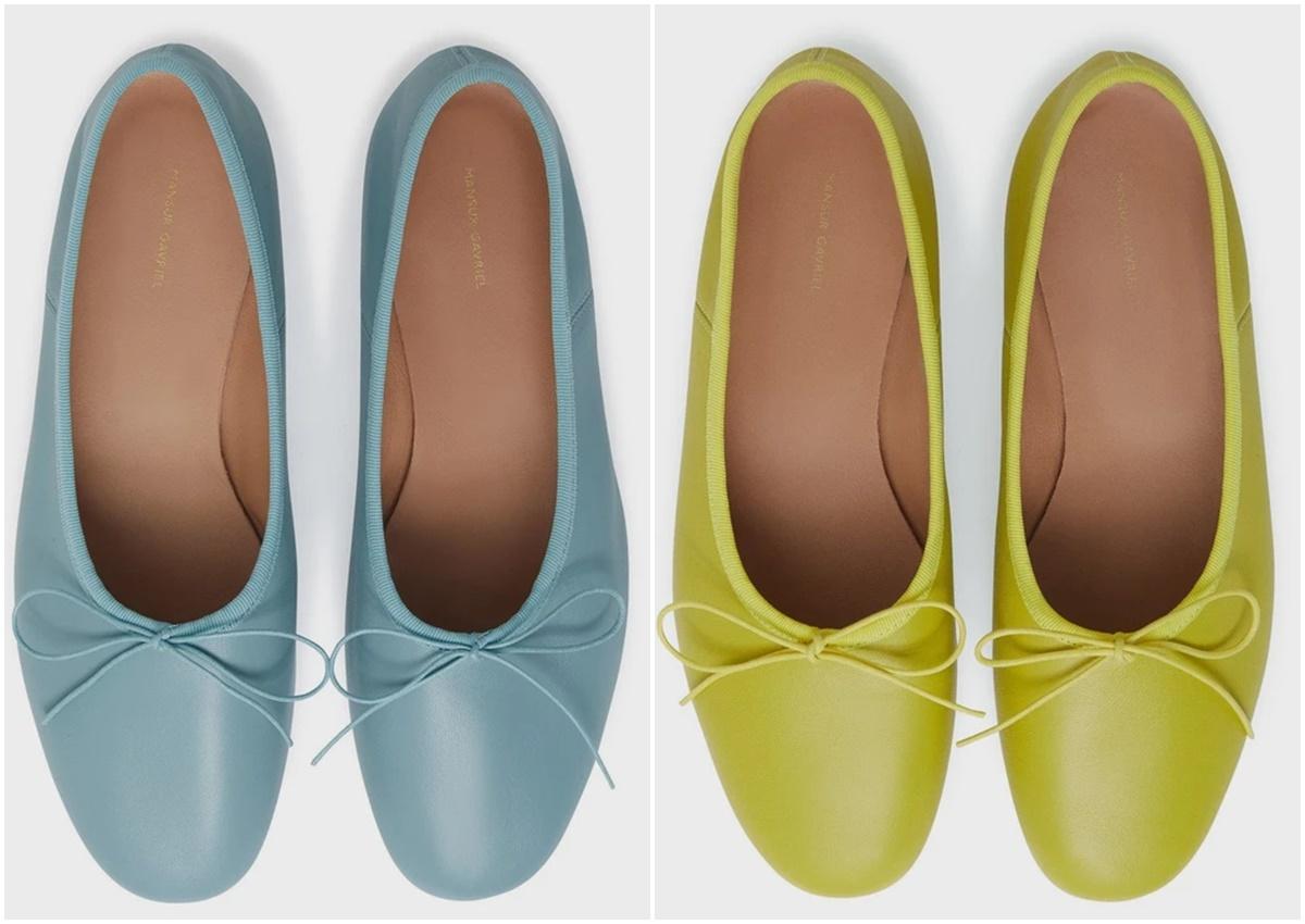 รองเท้าบัลเล่ต์รุ่นใหม่
