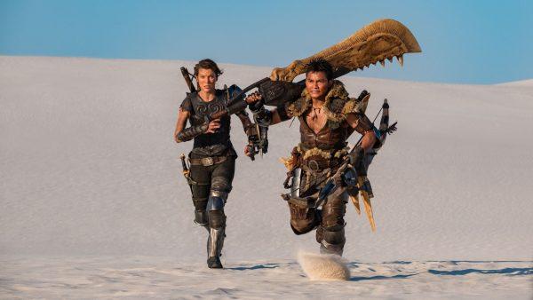 Milla Jovovich, โทนี่ จา, Monster Hunter, มิลลา โจโววิช