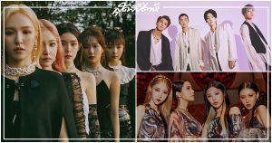 GOT7, Red Velvet, MAMAMOO, Lovelyz, WINNER, Laboum, SONAMOO, HOTSHOT, Berry Good, UNIQ, IZ*ONE, GFriend, ไอดอลกรุ๊ปเดบิวต์ปี 2014, ไอดอลกรุ๊ป, วงเดบิวต์ปี 2014, ไอดอลเกาหลี