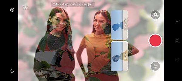 AI Mixed Portrait แบบ Blend Mode