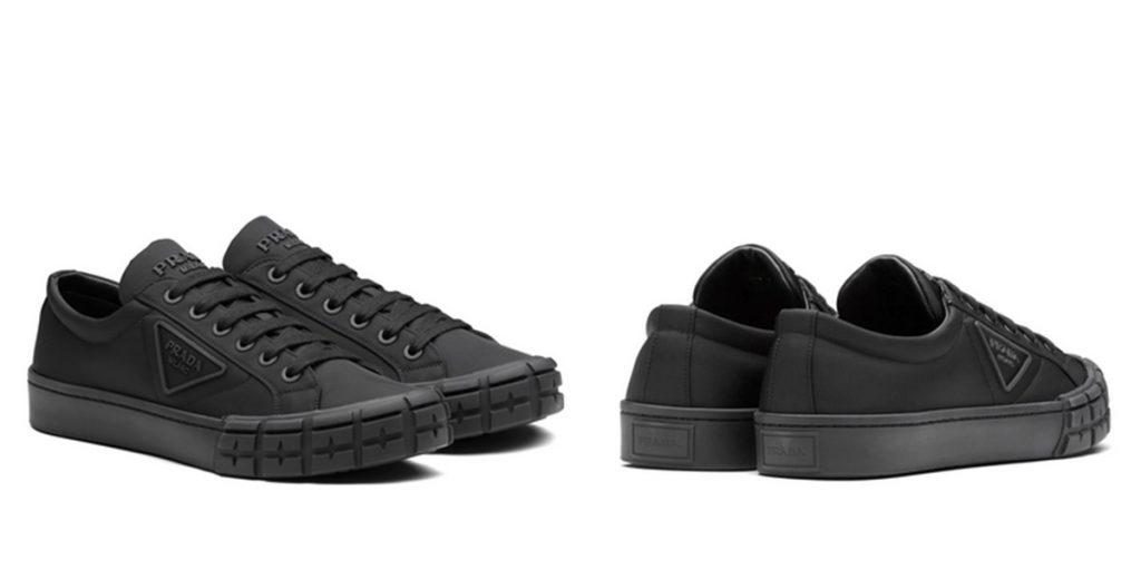 Nylon Fabric Sneakers