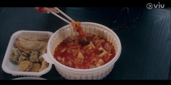 떡볶이, ต๊อกบกกี,อาหารเกาหลี