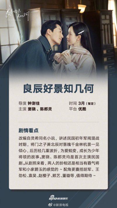 ซีรี่ย์จีนออนแอร์เดือนมี.ค. 2021 - ซีรี่ย์จีนปี 2021 - ซีรี่ย์จีน - ซีรี่ย์จีนครึ่งปีแรก 2021 - ซีรี่ย์จีนไตรมาสแรก 2021