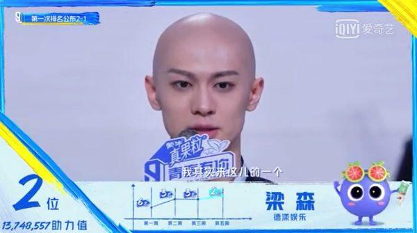 เหลียงเซิน - Liang Sen - LEO - 梁森- Youth With You 3 - 青春有你3 - Qing Chun You Ni 3 - iQiyi