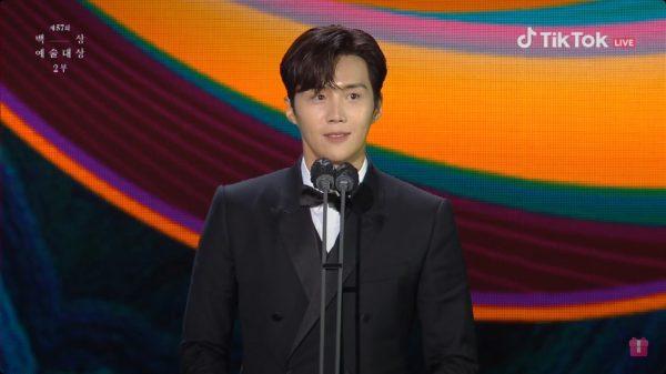 คิมซอนโฮ, Baeksang Arts Awards 2021, ,57th Baeksang Arts Awards, Baeksang Arts Awards 2021, งานประกาศรางวัลเกาหลี, Baeksang Arts Awards, 2021 Baeksang Arts Awards, 백상예술대상, 제 57회 백상예술대상, งานแพ็คซัง 2021, แพ็คซัง 2021, นักแสดงเกาหลี