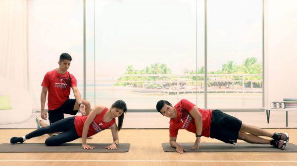 Side Plank - ท่ากระชับสัดส่วน - Fitness First