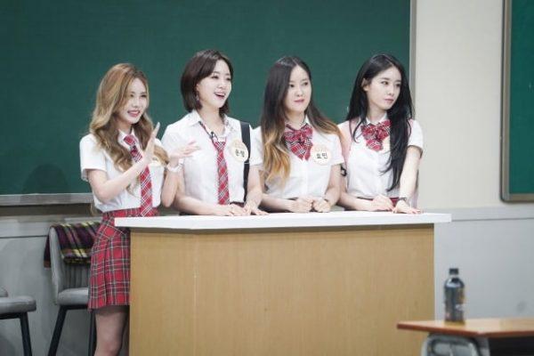 티아라, T-ARA, เกิร์ลกรุ๊ปเกาหลี, ไอดอลแอบเดต, ไอดอลเกาหลี, 지연, 효민, 은정, 큐리, พัคจียอน, จียอน, ฮโยมิน, อึนจอง, คยูริ, คิวริ, อีจีฮยอน, ฮัมอึนจอง, พัคซอนยอง, Hyomin, Jiyeon, Eunjung, Qri, ไอดอลออกเดต, Men on a Mission, Knowing Brothers, 아는 형님