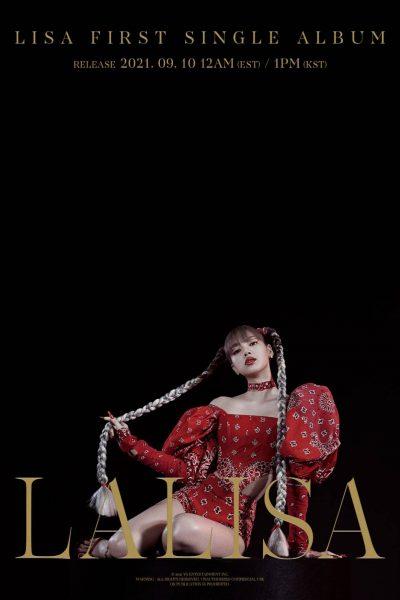 LALISA โซโล่อัลบั้มแรกของลิซ่า